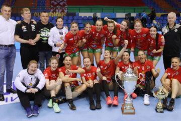 «Гомель» — обладатель Кубка Беларуси среди женских команд сезона 2020/21