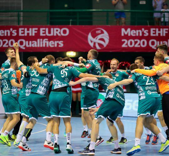 Мужская сборная Беларуси вышла на EURO-2020