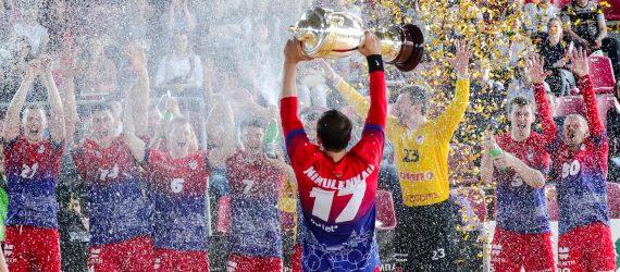 СКА Минск — обладатель Кубка Беларуси среди мужских команд сезона 2018/19
