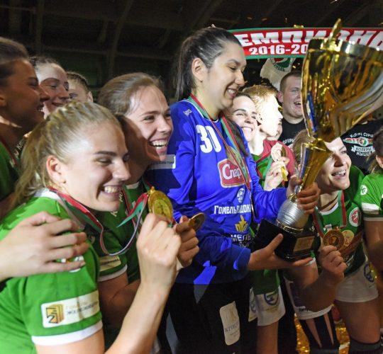 Гомель — чемпион Беларуси среди женских команд сезона 2018/19
