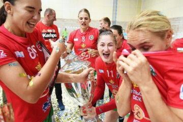 Гомель — обладатель Кубка Беларуси среди женских команд сезона 2019/20