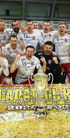БГК «Мешков Брест»- обладатель Кубка Беларуси среди мужских команд сезона 2020/21